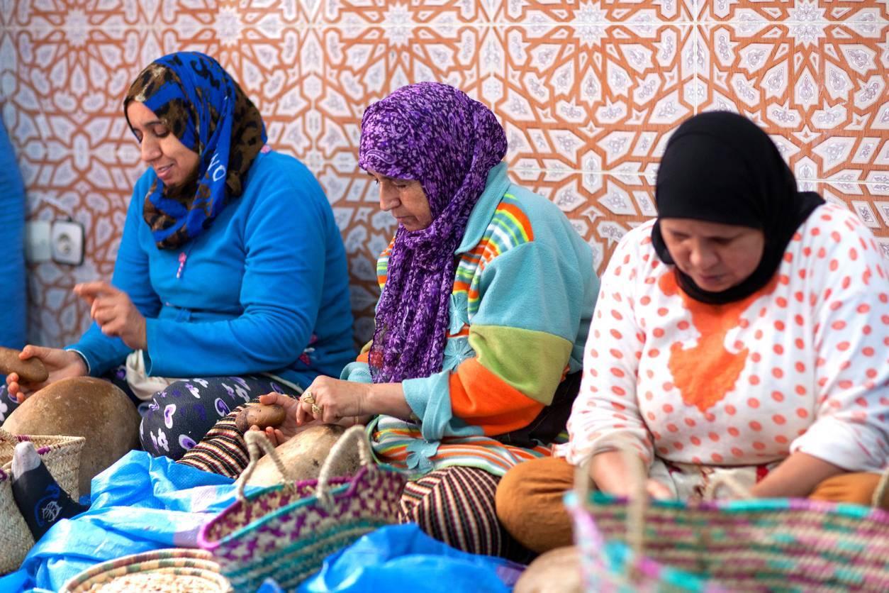 entreprise d'argan à Maroc