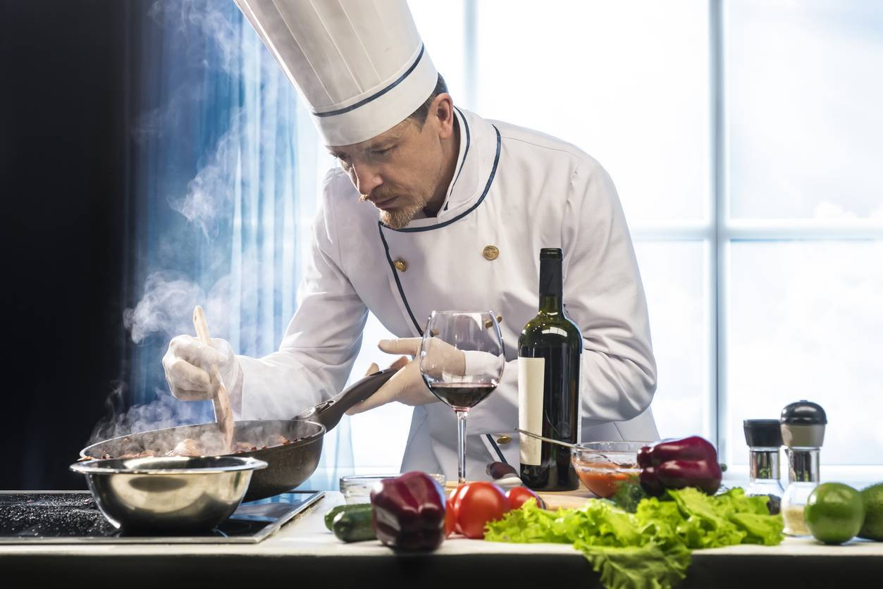 vêtements cuisinier tenue professionnelle