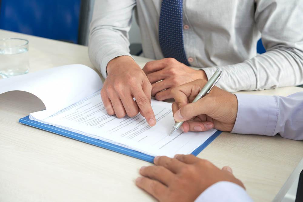 Signature Contrat Commercial